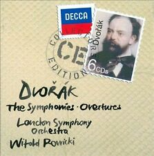 Antonin Dvorak The Symphony Overtures CD NEW Witold Rowicki London Symphony