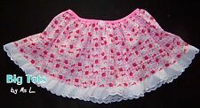 Adult Baby Hello Kitty skirt   *MsL BIG TOTS*
