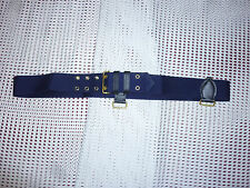 SWORD BELT UNDERBELT CEREMONIAL NO.5 BLUE WEBBING BRITISH ARMY ISSUE NEW