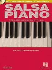 Salsa Piano - The Complete Guide with CD!: Hal Leonard Keyboard Style Series, He
