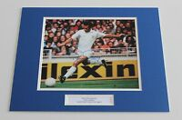 PAUL REANEY Leeds United Genuine HAND SIGNED Autograph Photo Mount + COA!