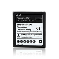 New 3.8VDC 3200mAh Replacement Li-ion Battery For SamSung Galaxy Grand 2 G7106