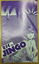 RSC Aldwych Theatre: Anna Massey John Standing Andy Ho in JINGO  by Charles Wood