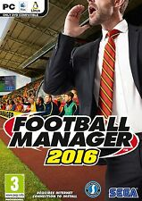 Football Manager 16 PC CD NEW SEALED FAST DISPATCH