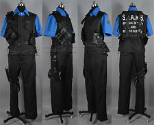 Resident Evil Combat uniform Albert Wesker Cosplay Costume Any Size