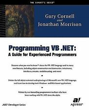 Programming VB. Net : A Guide for Experienced Programmers by Gary Cornell and...