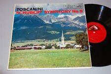 "TOSCANINI Schubert Symphony No. 9 12"" Vinyl LP RCA LM-1835 ~f"