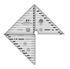 """Creative Grids Multi-Size 6"""" Flying Geese & 45/90° Triangle Sewing Ruler"""