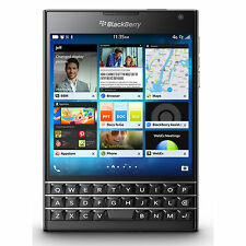 Blackberry Passport Unlocked GSM Smartphone 3-row keyboard - Black