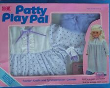 "1987 IDEAL TALKING  24"" PATTY SLEEP 'N SLUMBER FASHION OUTFIT & CASSETTE  NRFB"