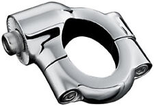 Harley FXCWC 08-11Side-Mount License Plate Holder Clamp Chrome by Kuryakyn