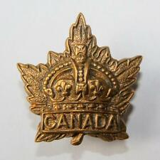 Genuine: Canada General List ~ Canadian Army Military Collar Badge A