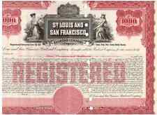 St. Louis and San Francisco Railroad Company   1000%