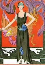 1979 Moda Art Deco Vintage Impresión 1921 Gaceta du Bon Ton George Barbier