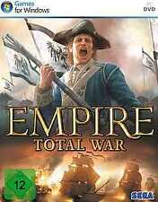 EMPIRE TOTAL WAR * KOMPLETT DEUTSCH * OVP Neuwertig