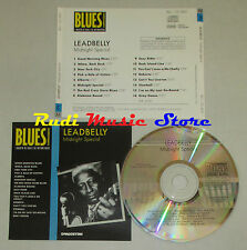CD LEADBELLY Midnight special BLUES COLLECTION 1993 DeAGOSTINI mc lp dvd vhs