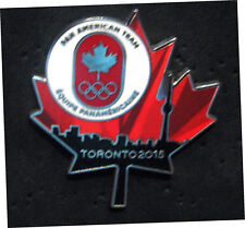 TORONTO 2015 Pan Am Olympic Games LIMITED Canada  NOC delegation  team pin