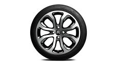 "Genuine Citroen C3 17"" Alloy Wheel in a Clover Design in Black -  Set of Four"