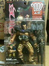 2000AD Collectors series : SLAINE with UKKO figure,  MIP, ReAction , Judge Dredd
