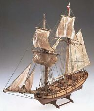"""Elegant, Intricately-detailed wooden model ship kit by Constructo: the """"Halifax"""""""