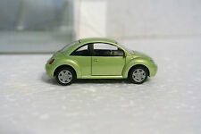 Wiking 2901 HO 1/87 1998 VW New Beetle Green Dealer Store C-9 NIB