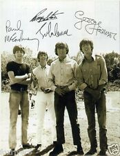 THE BEATLES Signed Photograph - Rock & Pop Star Legends - preprint