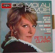 PETULA CLARK  EP 45 Tours DIS MOI AU REVOIR. FRANCE 1968   LANGUETTE