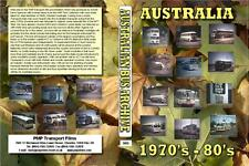 3005. Australia. Buses. 1970's -1980s. Cine film by Alan Mortimer with wonderful