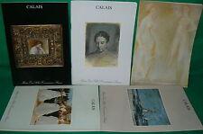 5 catalogues vente aux enchères CALAIS tableaux modernes sculptures bronzes (1)