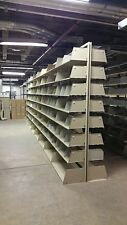 6 Complete Cantilevers Metal Shelving Disassembled, Heavy duty, Warehouse Grade