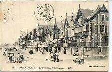 CP 62 Pas-de-Calais - Berck-Plage - La promenade de l'Esplanade