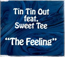 TIN TIN OUT FEAT. SWEET TEE - THE FEELING - 5 TRACK REMIXES CD SINGLE