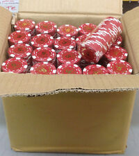 1000 GOLDFIELD Reno Vegas $5 RED Poker Chips 11.5gr GREAT DEAL FREE Shipping *