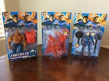 Toy Biz Marvel Fantastic Four Action Figures - COMPLETE SET Factory Sealed 2005