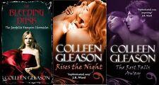 COLLEEN GLEASON ___ 3 BOOK SET ___ GARDELLA VAMPIRE __ BRAND NEW ___ FREEPOST UK