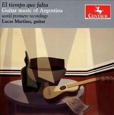 El Tiempo Que Falta: Guitar Music of Argentina, New Music