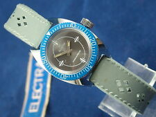 Vintage Electra Ladies Divers Swiss Wind Up Watch NOS New Old Stock Circa 1960s