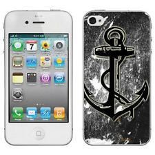 CUSTODIA COVER CASE TPU ANCORA SPERANZA PER IPHONE 4 4S