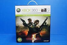 Xbox 360 Biohazard 5 RE Console System Japan *GREAT - 100% BOXED - GREAT BOX*