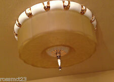Vintage Lighting astounding 1930s foyer fixture by Porcelier