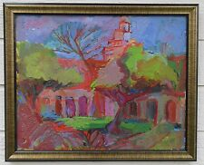 FRANK GERMAIN CALIFORNIA VINTAGE FAUVISM EXPRESSIONIST LANDSCAPE OIL PAINTING