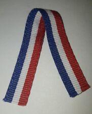 Ruban miniature bleu blanc rouge, France, médailles, décorations