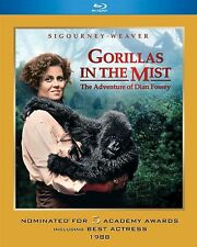 GORILLAS IN THE MIST (Sigourney Weaver)  -  Blu Ray - Sealed Region free
