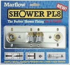 SHOWER PL8 EXPOSED BAR SHOWER VALVE FIXING FITTING KIT 150mm FAST FIX PLATE