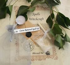 Curse or Hex Removal Spell Kit  Votive Candle  Magic Wicca Created by a Witch