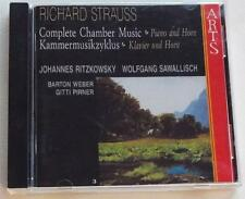 Strauss: Complete Chamber Music, Vol. 3   Ritzkowsky  Sawallisch   CD  GERMANY