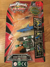 Power Rangers jungle fury Micro animal zords megazords B  New in blister package