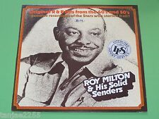 Roy Milton & His Solid Senders - R.M.Blues / Milton's Boogie - Specialty UK LP