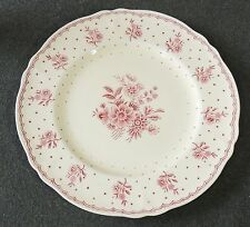 Grindly England Creampetal Tewkesbury Scallop Edge Salad Plate EUC
