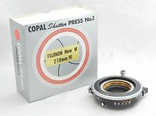 【NEAR MINT IN BOX】Copal Shutter Press No.1 For Fujinon W Large F from JAPAN #J53